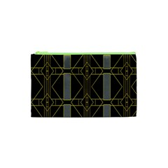 Simple Art Deco Style Art Pattern Cosmetic Bag (xs)