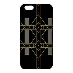 Simple Art Deco Style Art Pattern iPhone 6/6S TPU Case