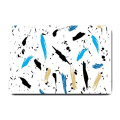 Abstract Image Image Of Multiple Colors Small Doormat