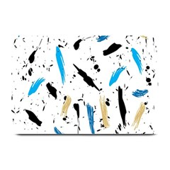 Abstract Image Image Of Multiple Colors Plate Mats