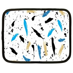 Abstract Image Image Of Multiple Colors Netbook Case (XXL)