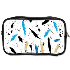 Abstract Image Image Of Multiple Colors Toiletries Bags 2-Side