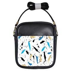 Abstract Image Image Of Multiple Colors Girls Sling Bags