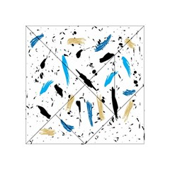 Abstract Image Image Of Multiple Colors Acrylic Tangram Puzzle (4  x 4 )