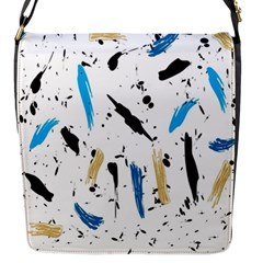 Abstract Image Image Of Multiple Colors Flap Messenger Bag (s)