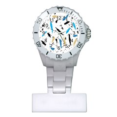 Abstract Image Image Of Multiple Colors Plastic Nurses Watch