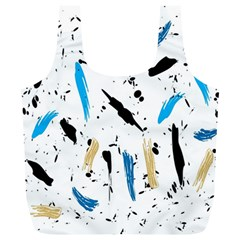 Abstract Image Image Of Multiple Colors Full Print Recycle Bags (L)