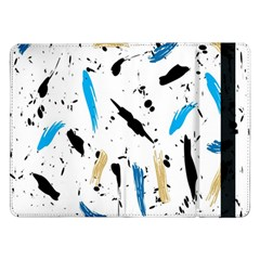Abstract Image Image Of Multiple Colors Samsung Galaxy Tab Pro 12 2  Flip Case