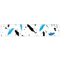 Abstract Image Image Of Multiple Colors Flano Scarf (Small)