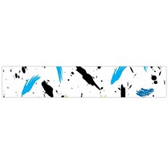 Abstract Image Image Of Multiple Colors Flano Scarf (Large)