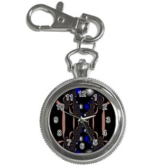 An Interesting Mix Of Blue And Other Colours Balls Key Chain Watches