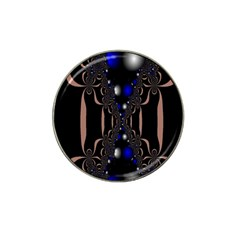 An Interesting Mix Of Blue And Other Colours Balls Hat Clip Ball Marker (4 pack)