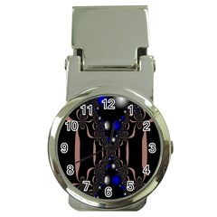 An Interesting Mix Of Blue And Other Colours Balls Money Clip Watches