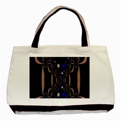 An Interesting Mix Of Blue And Other Colours Balls Basic Tote Bag (Two Sides)