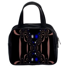 An Interesting Mix Of Blue And Other Colours Balls Classic Handbags (2 Sides)