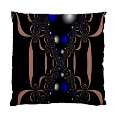 An Interesting Mix Of Blue And Other Colours Balls Standard Cushion Case (two Sides)