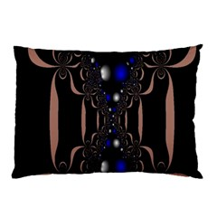 An Interesting Mix Of Blue And Other Colours Balls Pillow Case