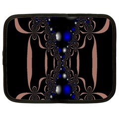 An Interesting Mix Of Blue And Other Colours Balls Netbook Case (XL)