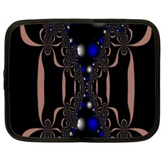 An Interesting Mix Of Blue And Other Colours Balls Netbook Case (XXL)