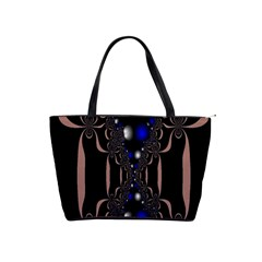 An Interesting Mix Of Blue And Other Colours Balls Shoulder Handbags