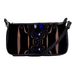 An Interesting Mix Of Blue And Other Colours Balls Shoulder Clutch Bags