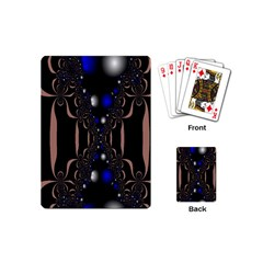 An Interesting Mix Of Blue And Other Colours Balls Playing Cards (Mini)