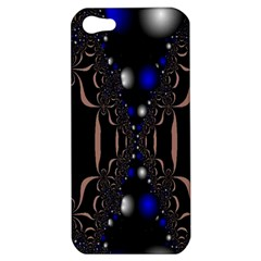 An Interesting Mix Of Blue And Other Colours Balls Apple Iphone 5 Hardshell Case