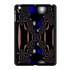 An Interesting Mix Of Blue And Other Colours Balls Apple iPad Mini Case (Black)