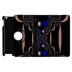 An Interesting Mix Of Blue And Other Colours Balls Apple iPad 3/4 Flip 360 Case