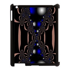 An Interesting Mix Of Blue And Other Colours Balls Apple Ipad 3/4 Case (black)