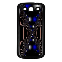 An Interesting Mix Of Blue And Other Colours Balls Samsung Galaxy S3 Back Case (black)