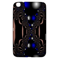 An Interesting Mix Of Blue And Other Colours Balls Samsung Galaxy Tab 3 (8 ) T3100 Hardshell Case