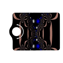 An Interesting Mix Of Blue And Other Colours Balls Kindle Fire HD (2013) Flip 360 Case