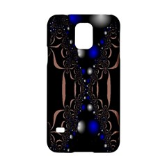 An Interesting Mix Of Blue And Other Colours Balls Samsung Galaxy S5 Hardshell Case