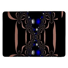 An Interesting Mix Of Blue And Other Colours Balls Samsung Galaxy Tab Pro 12.2  Flip Case