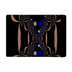 An Interesting Mix Of Blue And Other Colours Balls Ipad Mini 2 Flip Cases