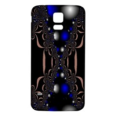 An Interesting Mix Of Blue And Other Colours Balls Samsung Galaxy S5 Back Case (white)