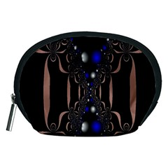 An Interesting Mix Of Blue And Other Colours Balls Accessory Pouches (medium)