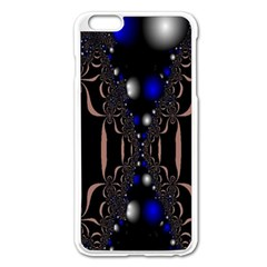 An Interesting Mix Of Blue And Other Colours Balls Apple Iphone 6 Plus/6s Plus Enamel White Case