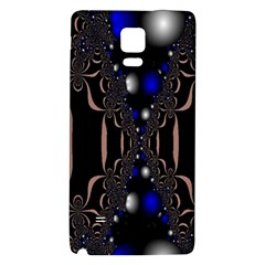 An Interesting Mix Of Blue And Other Colours Balls Galaxy Note 4 Back Case