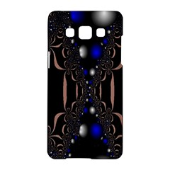 An Interesting Mix Of Blue And Other Colours Balls Samsung Galaxy A5 Hardshell Case