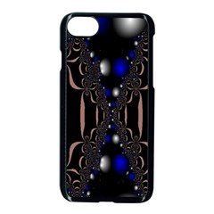 An Interesting Mix Of Blue And Other Colours Balls Apple iPhone 7 Seamless Case (Black)