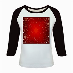 Red Holiday Background Red Abstract With Star Kids Baseball Jerseys