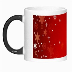 Red Holiday Background Red Abstract With Star Morph Mugs