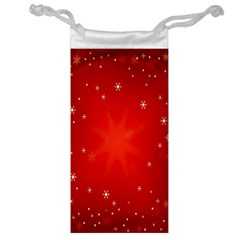 Red Holiday Background Red Abstract With Star Jewelry Bag