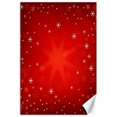 Red Holiday Background Red Abstract With Star Canvas 20  X 30