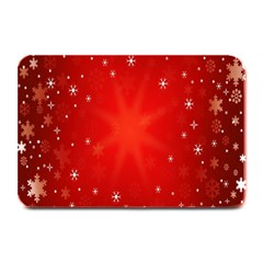 Red Holiday Background Red Abstract With Star Plate Mats