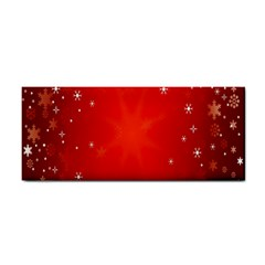 Red Holiday Background Red Abstract With Star Cosmetic Storage Cases