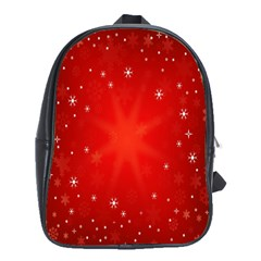 Red Holiday Background Red Abstract With Star School Bags(large)