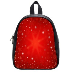 Red Holiday Background Red Abstract With Star School Bags (small)